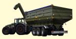 Перегрузочный бункер-накопитель ПБН-40 (трехосный)