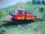 Лесохозяйственный трактор ЛХТ-100А-12