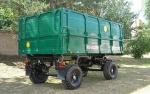 Прицеп тракторный специальный 2ПТС-6,5 с надставными цельнометаллическими бортами