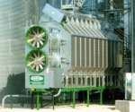 Зерносушилка Sukup с двумя вентиляторами и разделением камеры сушки 50/50