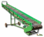 фото Ленточный конвейер для транспортирования мешков